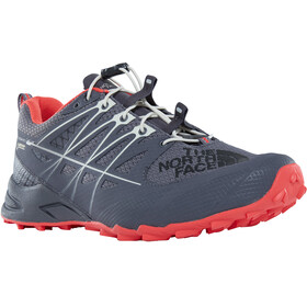 The North Face Ultra MT II GTX - Chaussures running Femme - gris/rouge